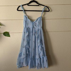 NWT Abercrombie and Fitch Baby Blue Dress